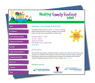 The Hospital of Central Connecticut - Healthy Family FunFest